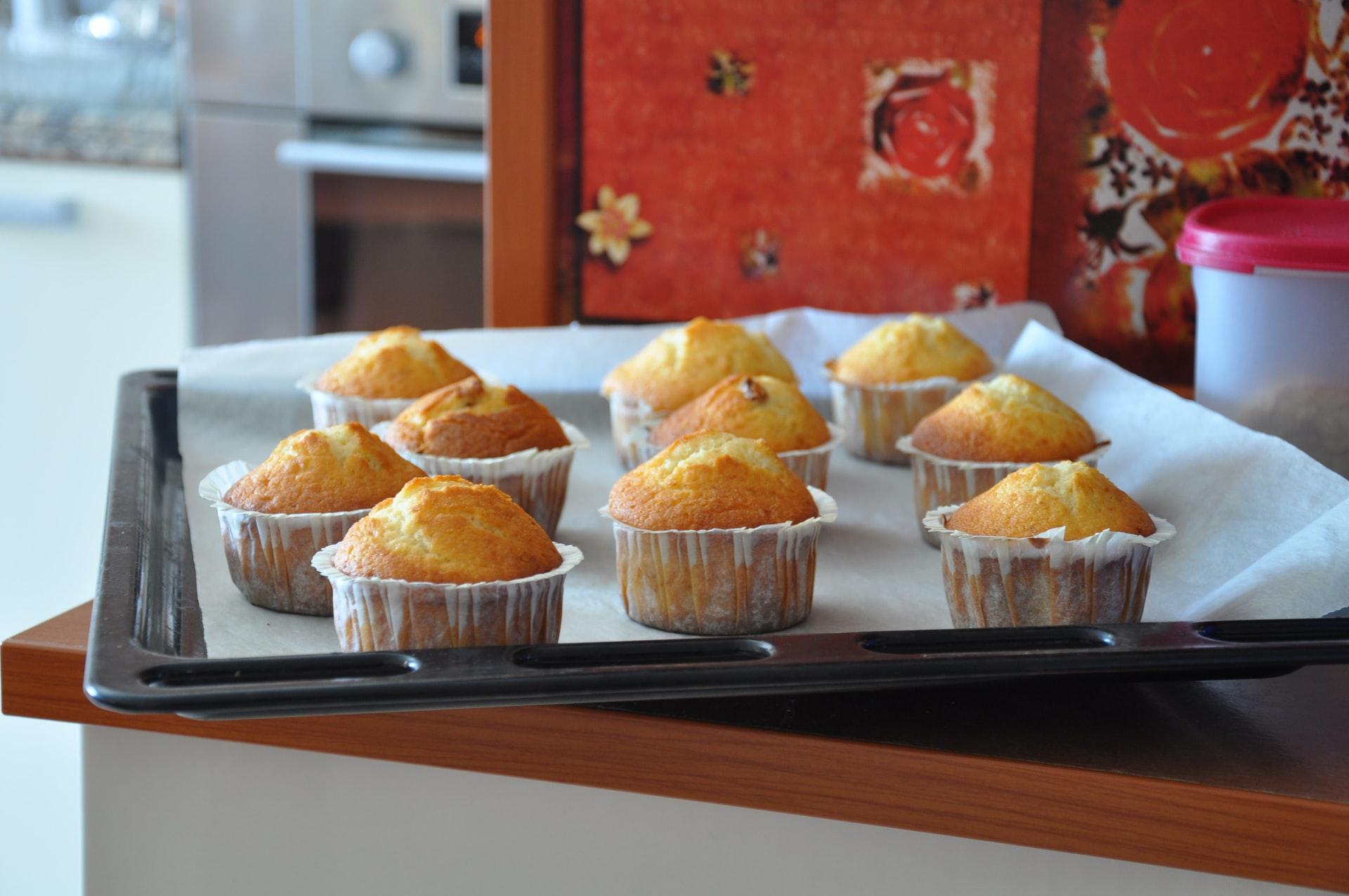 Muffins met Limoncello