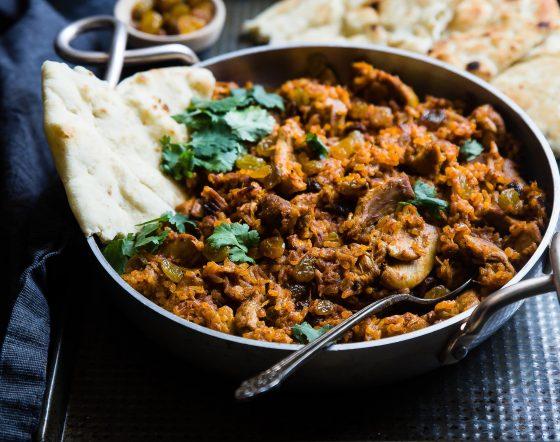 curry gehakt