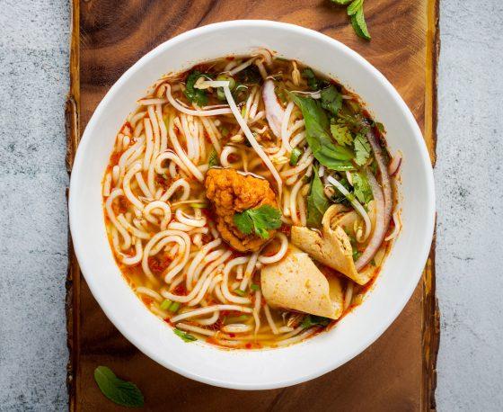 spicy noedel soep